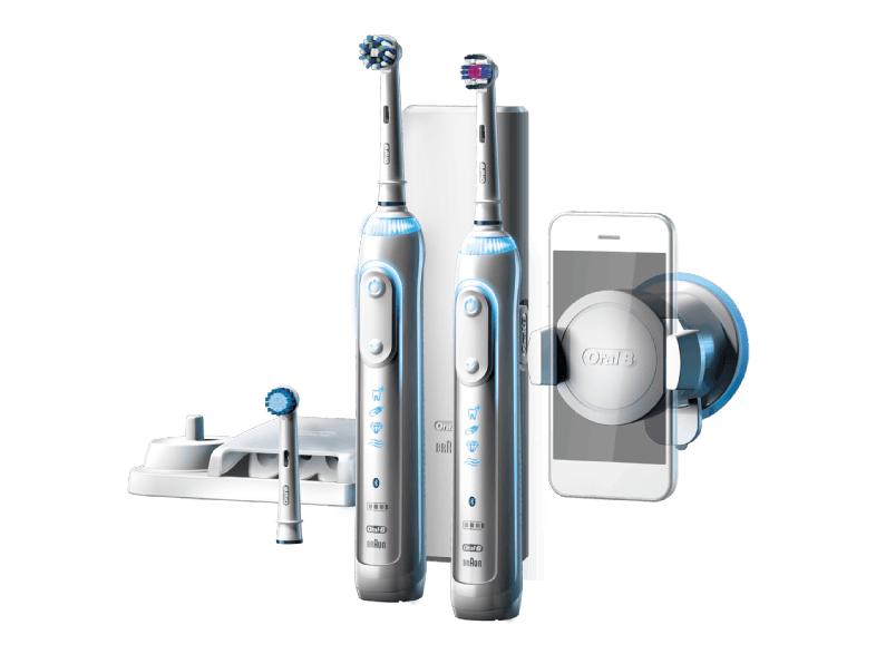 [www.Saturn.at]  Oral-B Genius 8900 Elektrische Zahnbürste mit 2. Handstück 99 EUR statt 159.99 EUR gratis Versand!