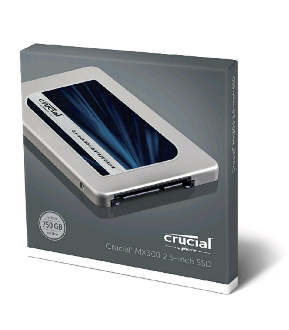 [Amazon] Black Friday - Crucial MX300 SSD 750GB um 129,90€ (-25,8%)