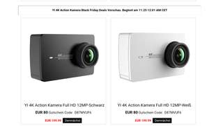 Xiaomi Yi ll 4k Actioncam @ amazon.de für 199,99€