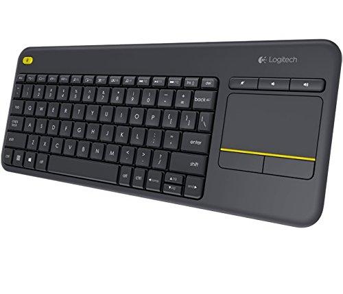 Logitech K400 Plus Wireless Tastatur um 18 € - Bestpreis - 47% sparen