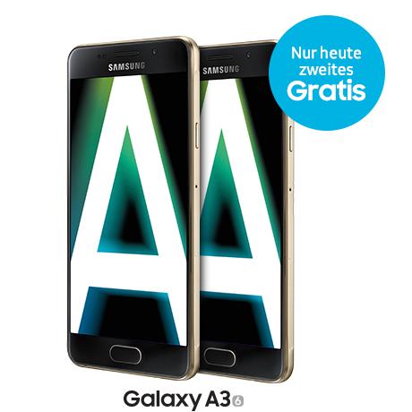 !!!! Galaxy A3 - 2 zum Preis von 1 !!!!
