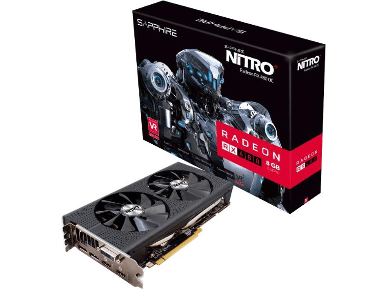 [Mediamarkt.at] SAPPHIRE Nitro+ Radeon™ RX 480, 8GB GDDR5 - 23% sparen