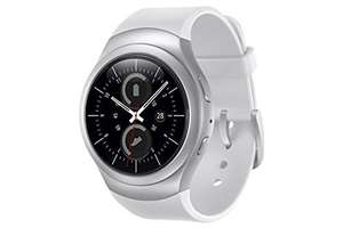 Samsung Gear S2 Smartwatch weiss/silber