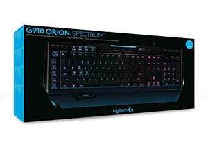 [Amazon] Logitech G910 Orion Spectrum Mechanische RGB-Tastatur