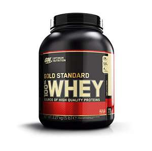 [Amazon.de] Optimum Nutrition Whey Gold Standard Protein 2,3kg ( verschiedene Sorten) ab 30,60€