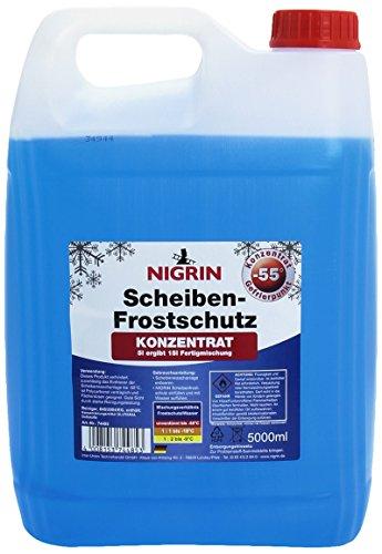 (Exklusiv Prime) Nigrin Scheibenfrostschutz bis -55°C 5 Liter inkl Versand