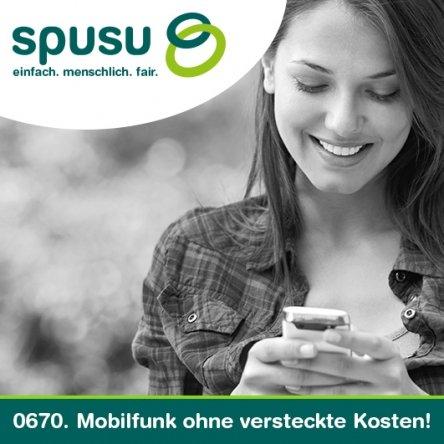 Spusu: Exklusiver Studententarif  um 9,90€ (5GB ohne LTE / 600 Min / 200 SMS)