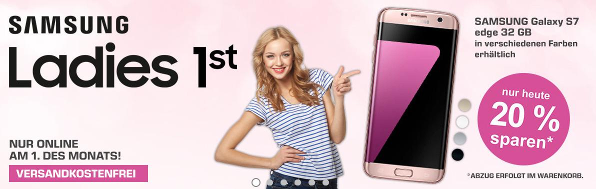 [SATURN] -20% auf Samsung Galaxy S7 Edge 32GB NUR HEUTE