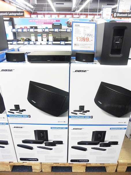 Saturn Haid: Bose SoundTouch 220 Heimkino um 999 € (Versand möglich) - 15%