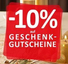 KIKA: 10% auf wirklich Alles - Dank 10% auf Gutscheine - bis 24.12.2016