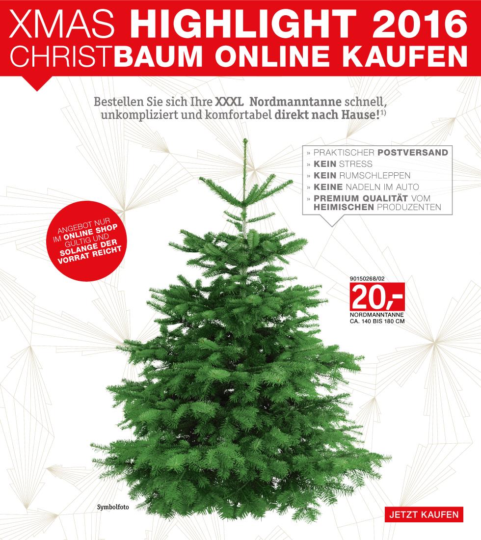 Nordmanntanne Online kaufen - einfach praktisch!