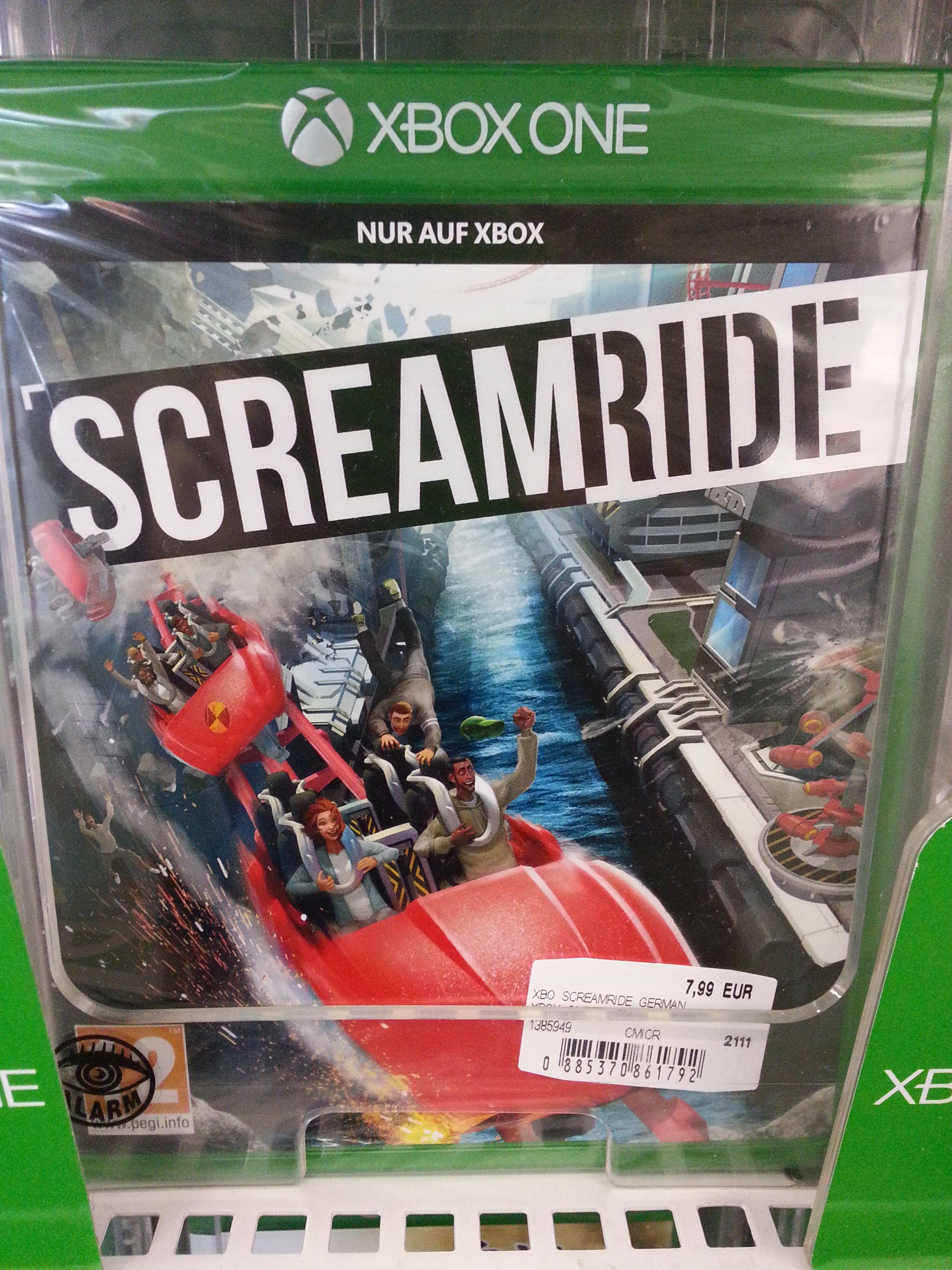 [Mediamarkt Lugner City] Xbox One Spiel Screamride