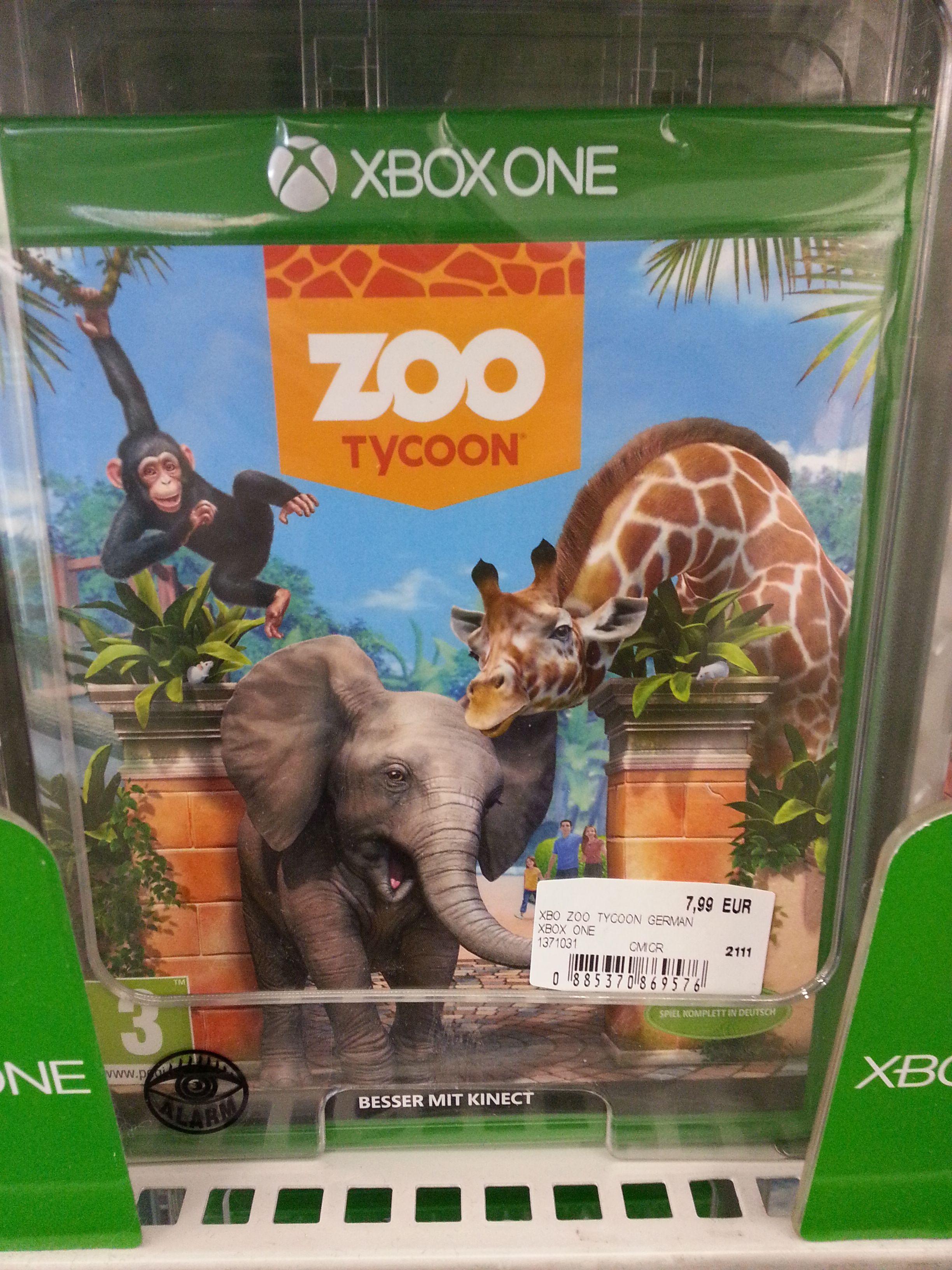 [Mediamarkt Lugner City] Xbox One Spiel Zoo Tycoon