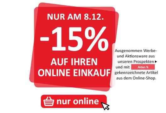 KIKA 15 % auf den Online-Einkauf