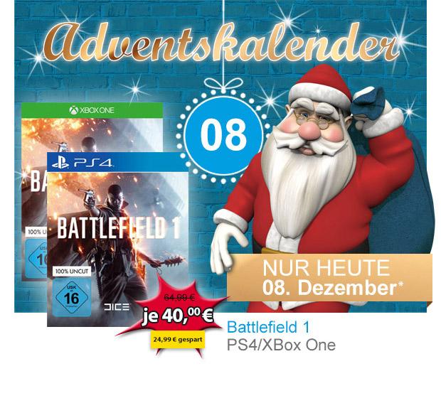 Müller: Battlefield 1 (Xbox One / PS4) für 40€