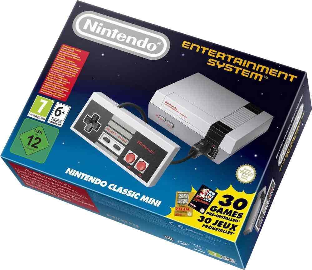 Nintendo Classic mini @Conrad.at lagernd!!