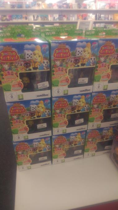 Scs Mediamarkt Amibo Festival WiiU (Lokal) fur 10€