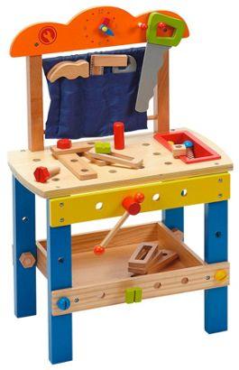 Kinderwerkbank aus Holz für 23.- inkl. Versandkosten