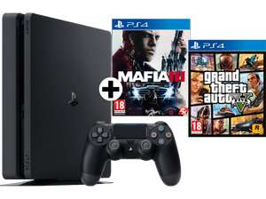 [TOP] Playstation 4 Slim 500GB + GTA V + Mafia 3