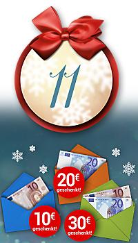 Nur heute bei Weltbild bis zu 30.- € Weihnachtsgeld sichern