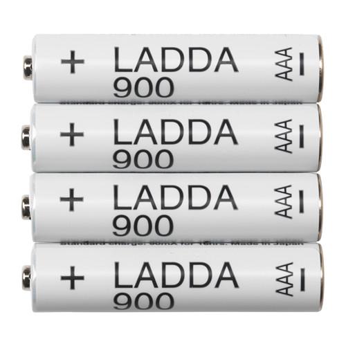 Warum einen unnötigen Aufpreis für den Markennamen Eneloop zahlen? Besser Ikea LADDA kaufen.