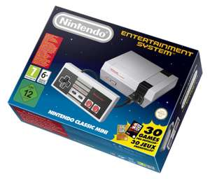 [Amazon]Nintendo Classic Mini: Nintendo Entertainment System ab 17.12.2016