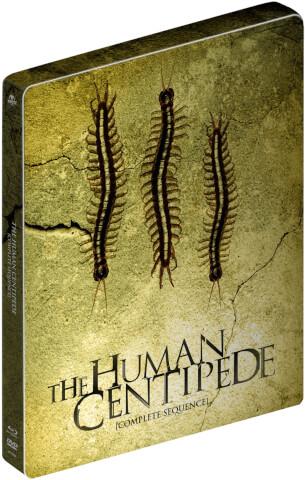 [ZAVVI] The Human Centipede I, II & III - Zavvi Exclusive Limited Edition Steelbook Blu-ray