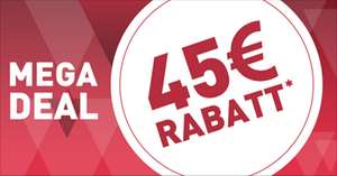 45€ Rabatt ab 90€ Warenwert @SC24.com