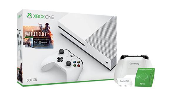 [Microsoft Store FR] Xbox One S 500GB + Battlefield 1 + Forza Horizon 3 + 2. Controller für 279€ - 26% sparen