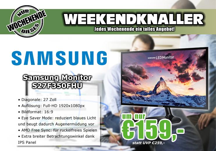 0815.at: Samsung S27F350 - 27 Zoll FHD Monitor für 159€
