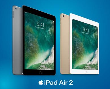 [Hofer] Apple iPad Air 2 mit 32GB Wi-Fi, alle Farben