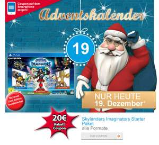 Müller: Skylanders: Imaginators - Starter Pack für 24,99€
