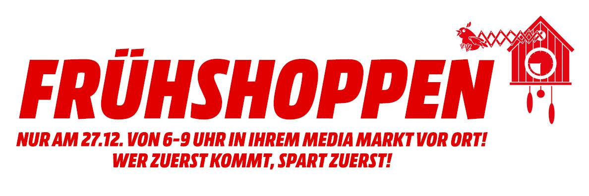 Media Markt Frühshoppen am 27. Dezember zwischen 6 - 9 Uhr - Alle Angebote im Preischeck!