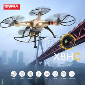 Drohne SYMA X8HC X8HW oder X8HG alle mit Camera RC Quadcopter with Altitude Hold and Headless Mode EUR 64 inkl. Zoll, X8HW mit FPV, ab EUR 64 inkl.Zoll, Versand, MWSt.
