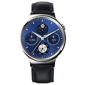 [Amazon.co.uk] Huawei Watch Classic mit Lederband in silber für 204,75€ - 21% sparen