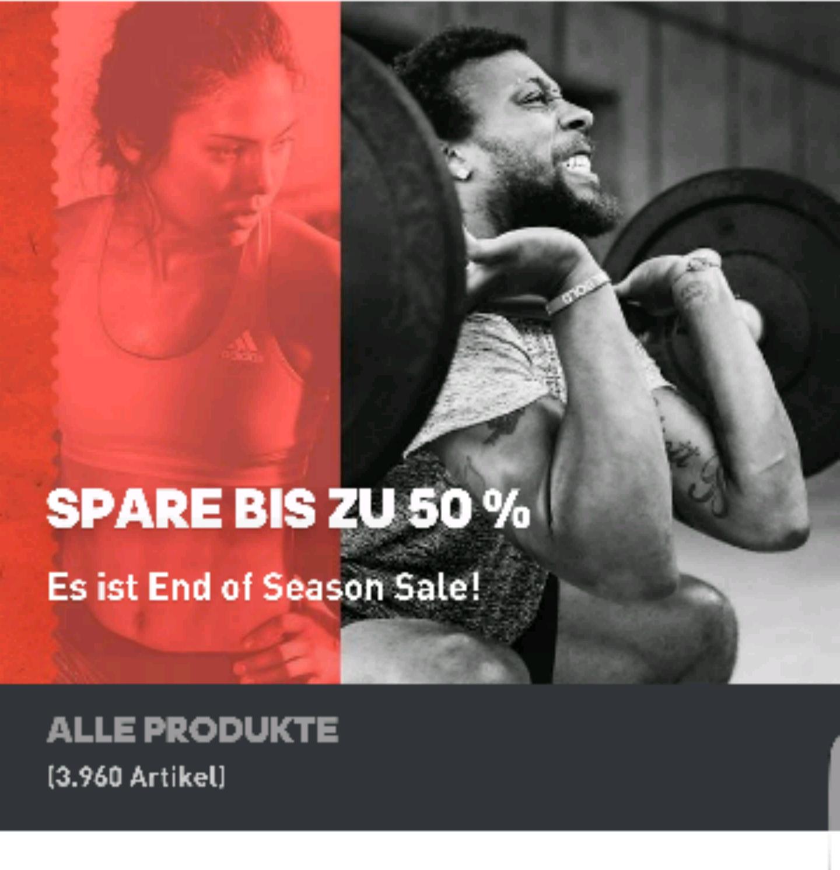 Adidas Sale bis zu 50 Prozent