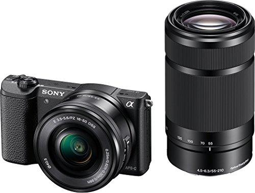 [Amazon.FR] Sony Alpha 5100 Systemkamera inkl SEL-P1650 und SEL-55210 schwarz [22% sparen]]