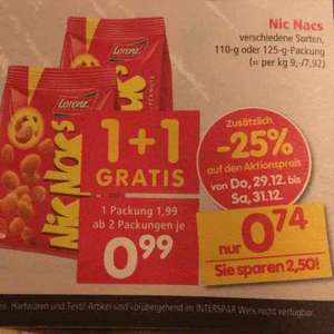 interspar Offline NicNac 0,74€
