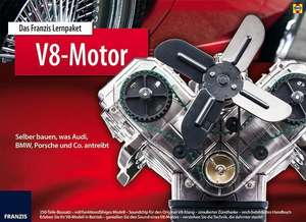 [thalia.at] Franzis Lernpaket - V8 Motor selber bauen für 49,79€ statt 93,27€
