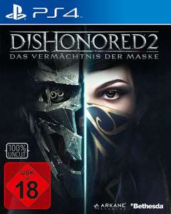 [Amazon.de] Dishonored 2 ( PS4/ Xbox One) für 29,97€ - 25% sparen
