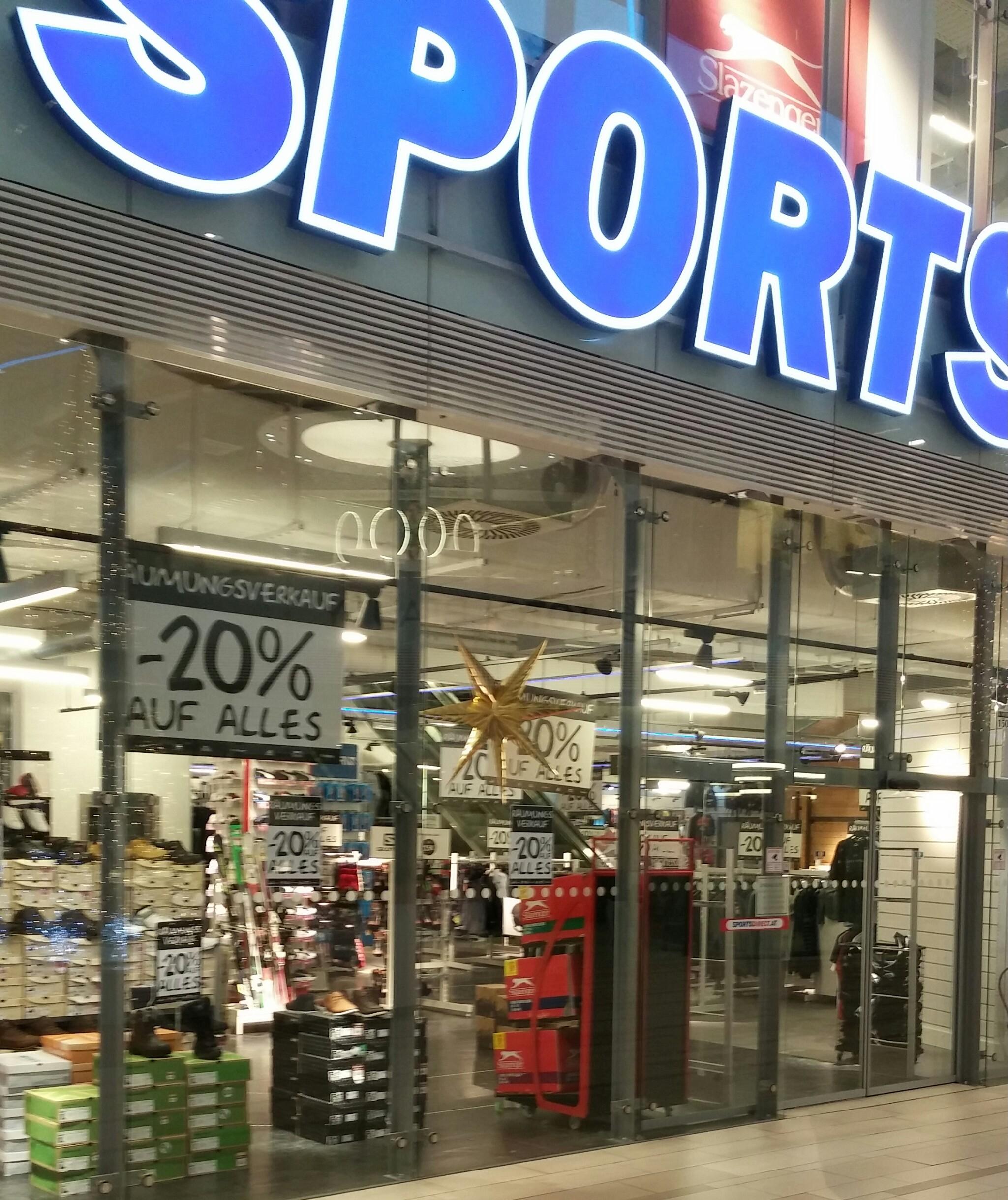 -20% auf alles (Sportsdirect SCS)