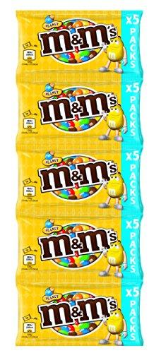 [Amazon.de][Prime] M&M's & Friends Peanut, 5 Streifen mit je 5 Beuteln (25 Beutel à 45g) für 6,95€