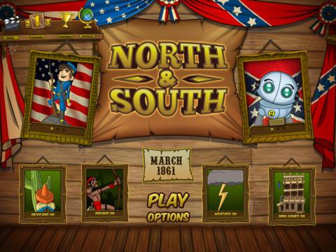 [iTunes] NORTH & SOUTH - The Game kostenlos fürs iPad