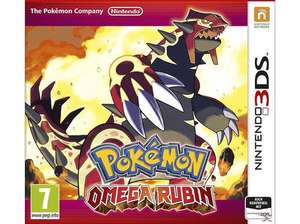 [Saturn.at] Pokemon Omega Rubin (3DS) für 17€ - 43%