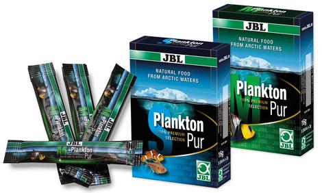 Gratis Einstiegspaket Fischfutter für Aquarienfische bestellen – PlanktonPur von JBL