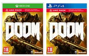 [Game.co.uk] DOOM (inkl. UAC Pack) (PS4/One) für 17,75 EUR inkl. VSK