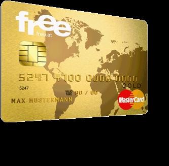 free Mastercard Kreditkarte + 10 € BestChoice Gutschein