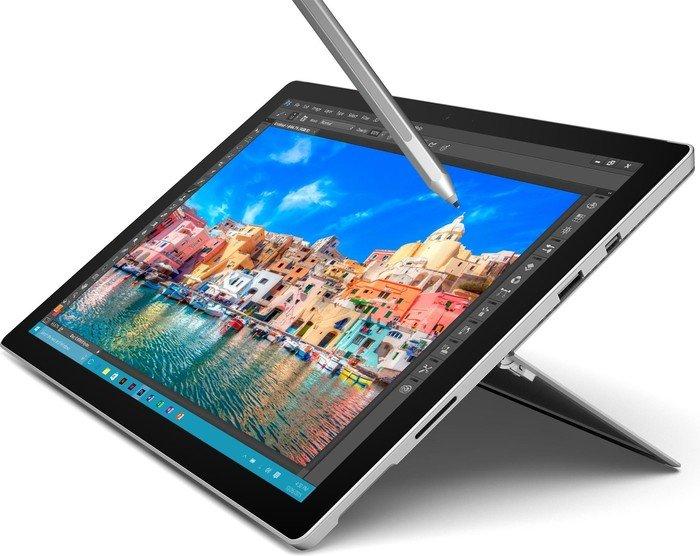 IT Technik Angebote auf saturn.at zu TOP Preisen - Beispiel: MICROSOFT Surface Pro 4 – 128 GB M (SU3-00003) um € 774,- statt € 857,06