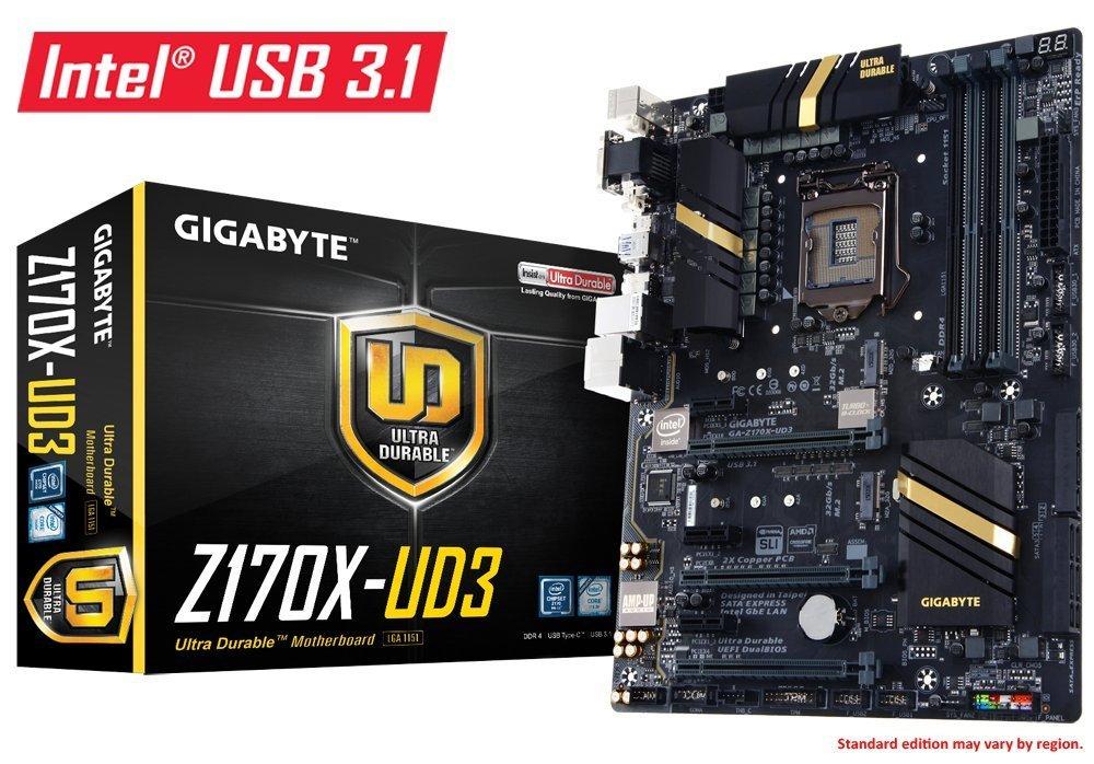Gigabyte GA-Z170X-UD3 Motherboard Intel  73% Billiger Laut Geizhals