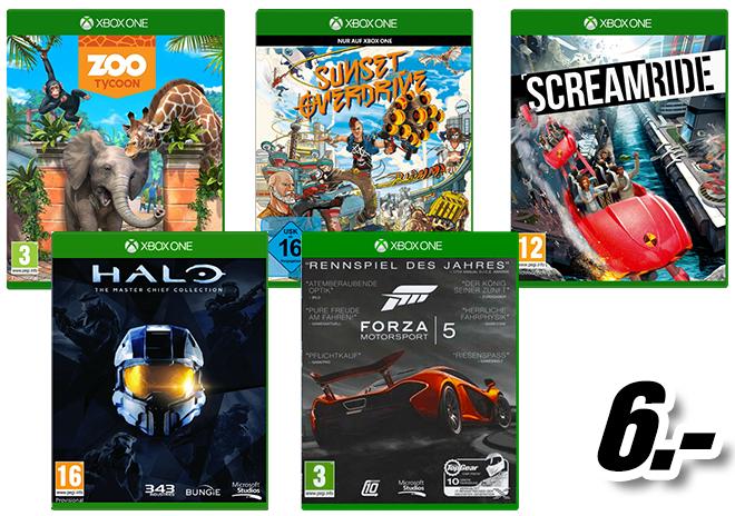 [Mediamarkt] Nacht-Angebot: div. Xbox One Spiele ab 6,- Euro
